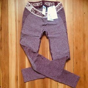 Gymshark flex leggings- dark ruby